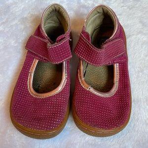 Livie & Luca Gemma Magenta Sparkle Shoes Sz 9